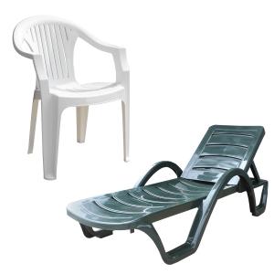Пластиковая мебель для террас, дачи